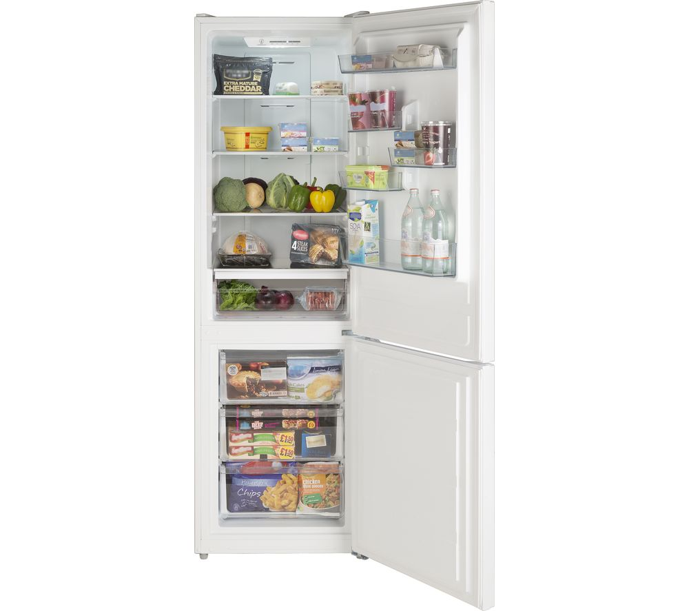 Compare prices for Lec TNF60188W 60-40 Fridge Freezer