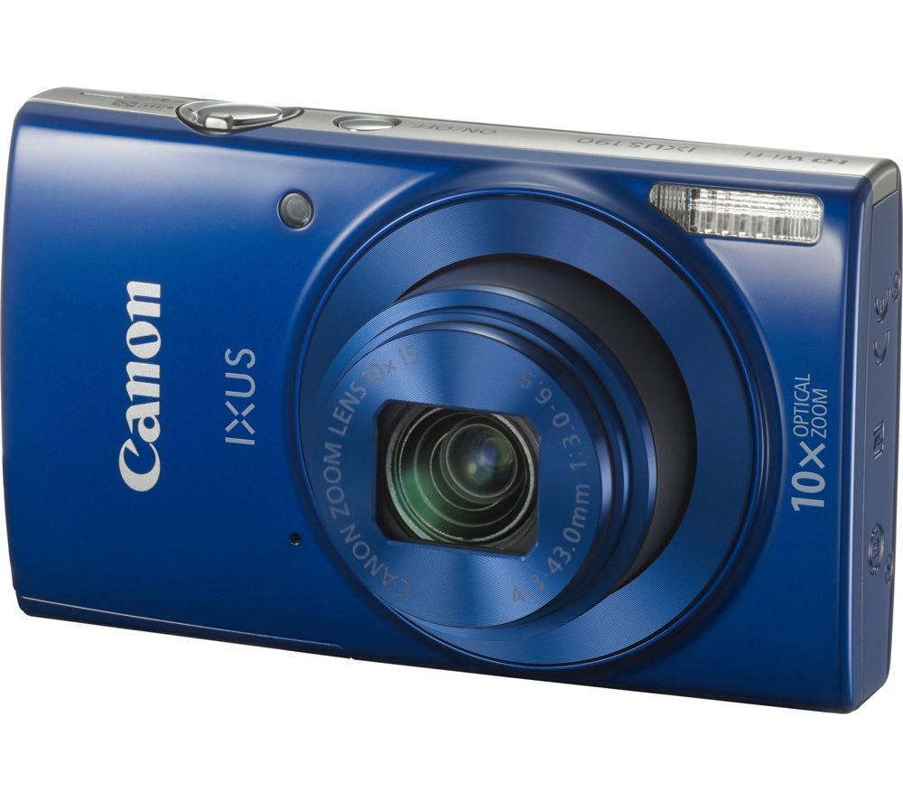 CANON IXUS 190 Compact Camera - Blue