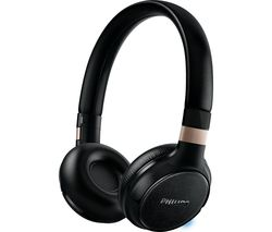 PHILIPS SHB9250/00 Wireless Bluetooth Headphones - Black