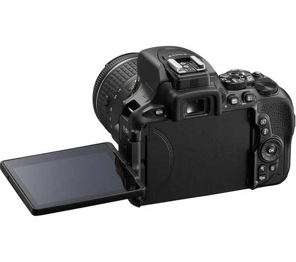 NIKON D5600 DSLR Camera with 18-55 mm f/3 5-5 6 Lens & Accessory Kit Bundle