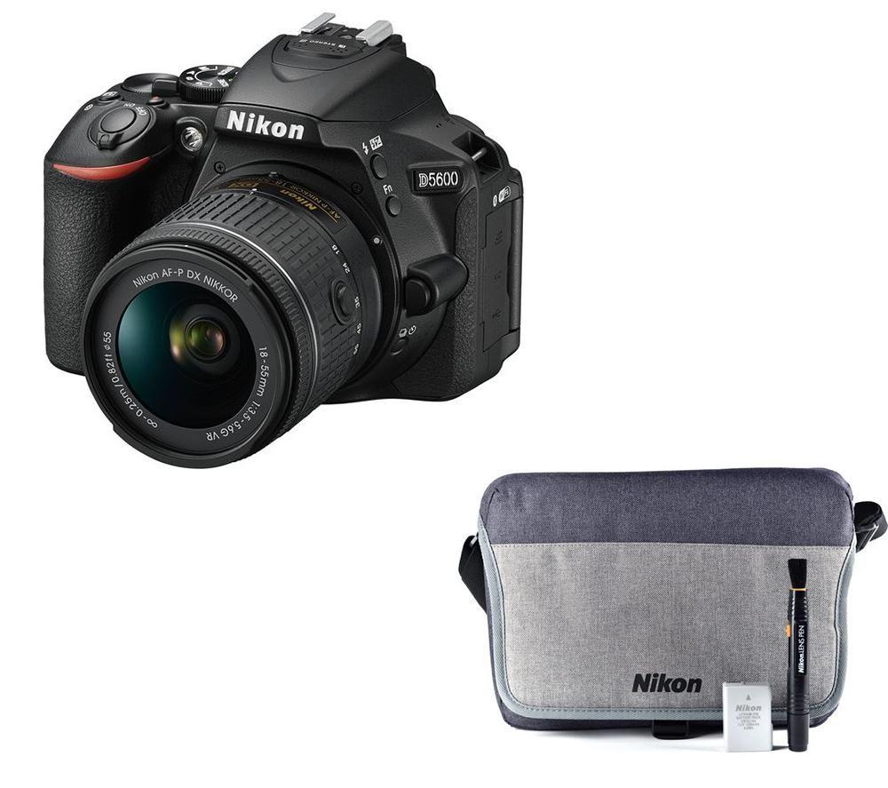 Buy NIKON D5600 DSLR Camera with 18-55 mm f/3.5-5.6 Lens & Accessory ...