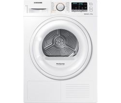 SAMSUNG DV80M50101W/EU 8 kg Heat Pump Tumble Dryer - White