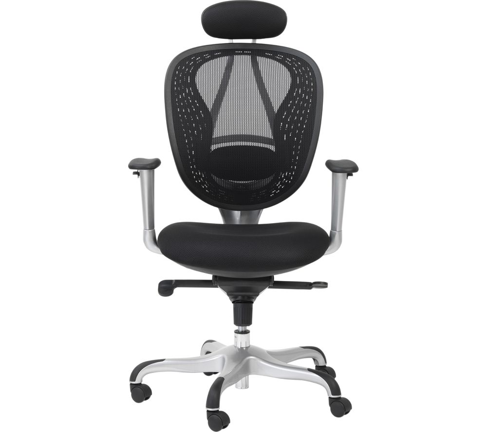 ALPHASON Blade AOC9699-M Mesh Tilting Executive Chair - Black, Black