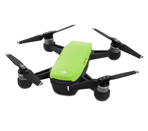 buy dji spark drone fly more combo meadow green free delivery currys. Black Bedroom Furniture Sets. Home Design Ideas
