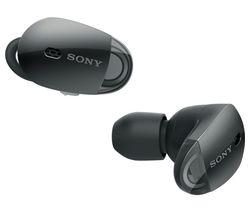 SONY WF1000X Wireless Bluetooth Noise-Cancelling Headphones - Black