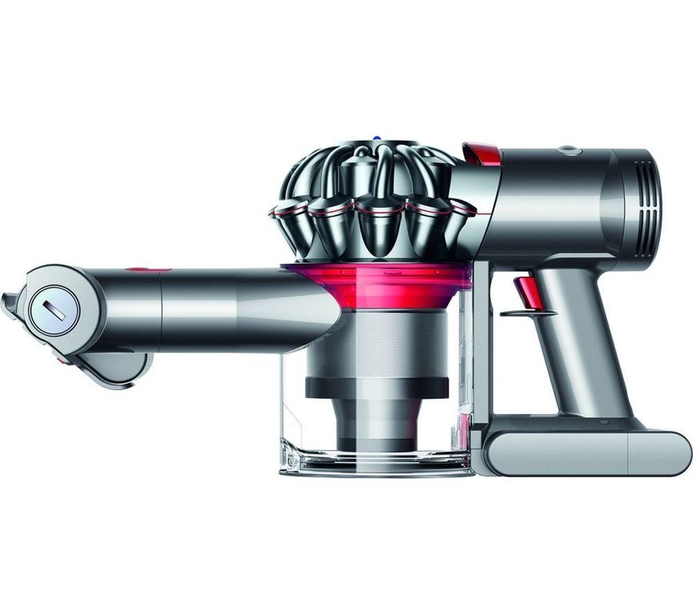 buy dyson v7 trigger handheld vacuum cleaner iron free delivery currys. Black Bedroom Furniture Sets. Home Design Ideas