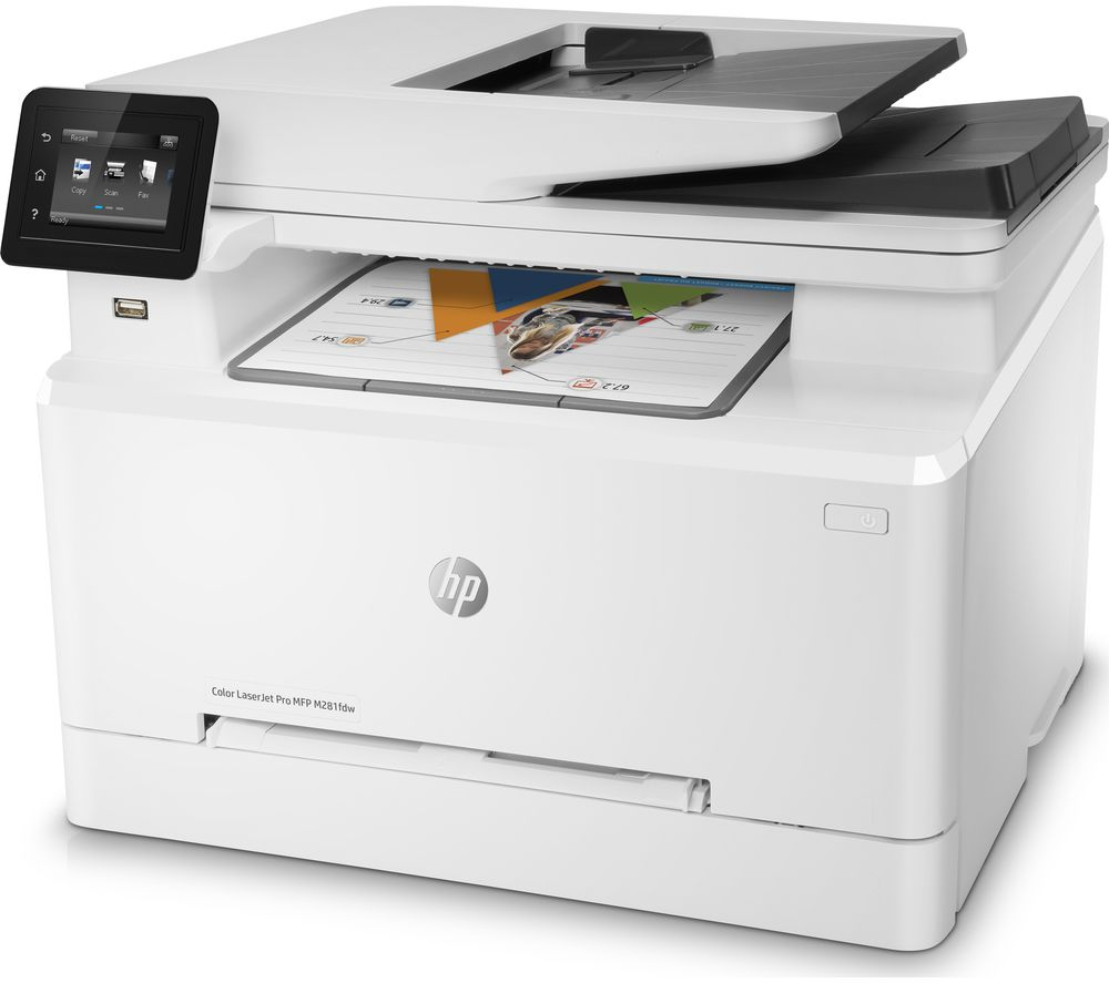 Buy Hp Laserjet Pro Mfp M281fdw All In One Wireless Laser
