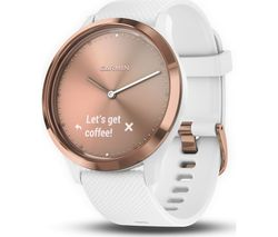 GARMIN VIVOMOVE HR Sport - Rose Gold, Small/Medium