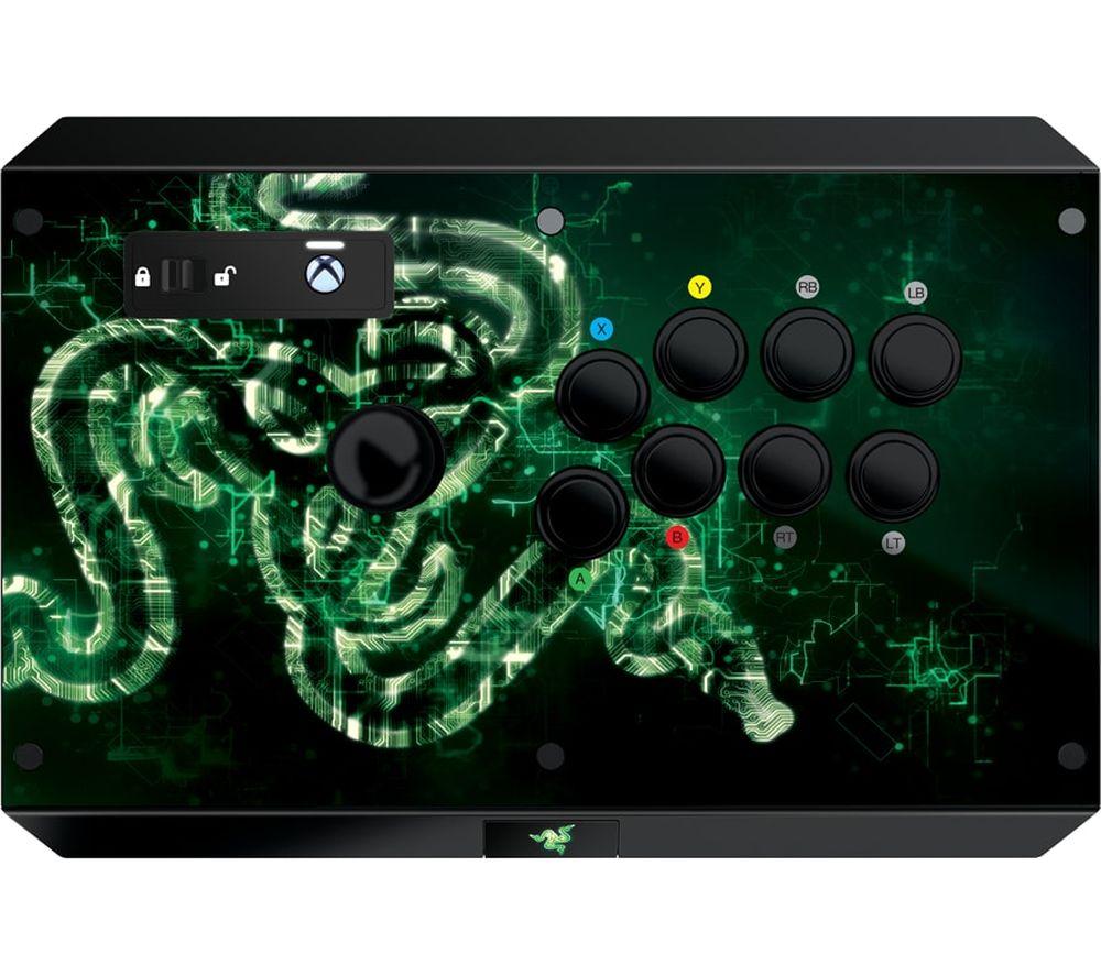 Image of RAZER Atrox XB1 Arcade Joystick - Black & Green, Black