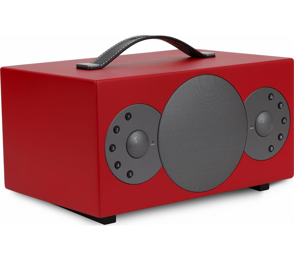 TIBO Sphere 4 Portable Wireless Smart Sound Speaker - Red