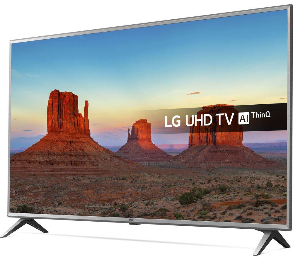 """LG 43UK6500PLA 43"""" Smart 4K Ultra HD HDR LED TV"""