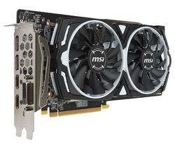 MSI Radeon RX 580 8 GB Armor OC Graphics Card