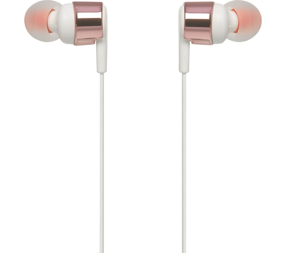 JBL T210 Headphones - Rose Gold