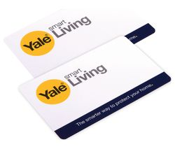 YALE Keyless Connected Key Card - Twin Pack