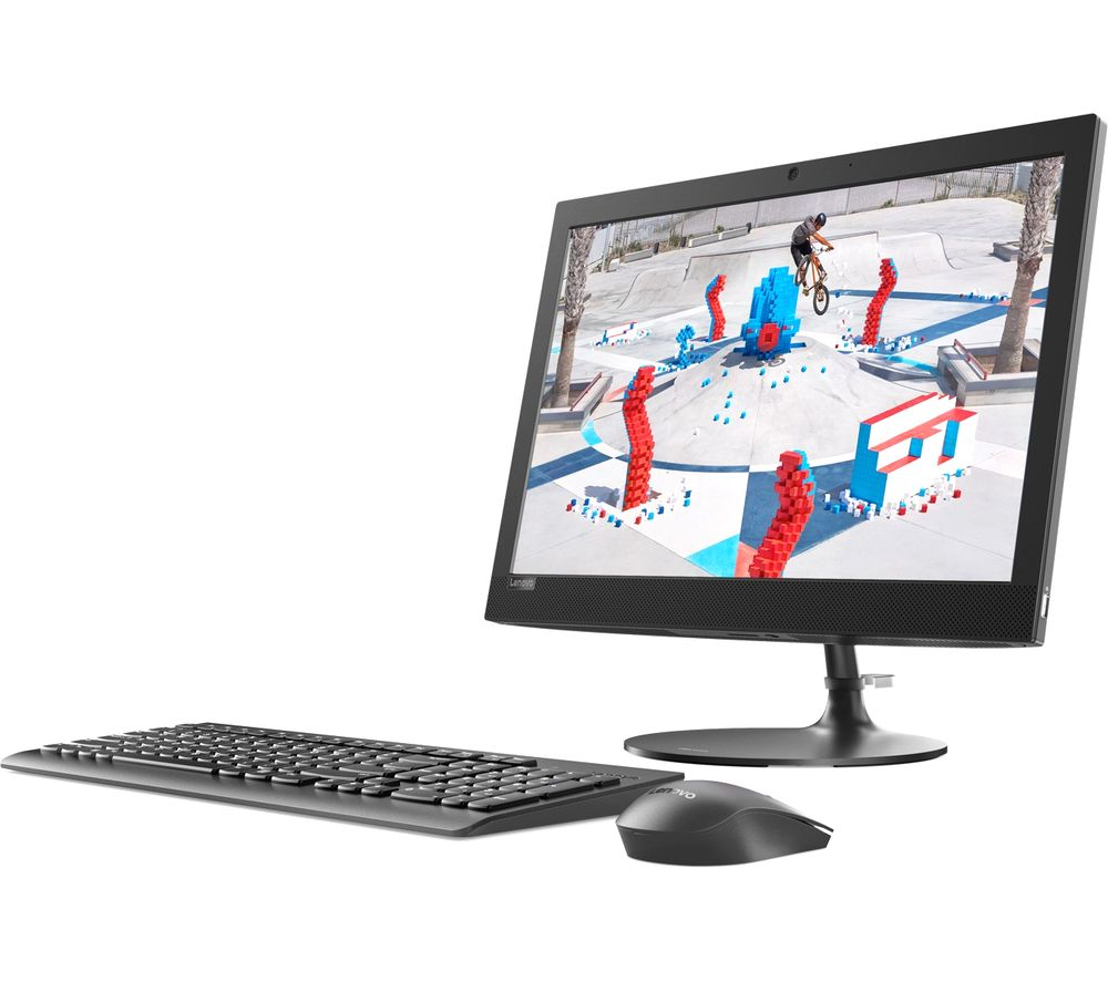 "LENOVO 330-20AST 19.5"" AMD A6 All-in-One PC - 1 TB HDD, Black"