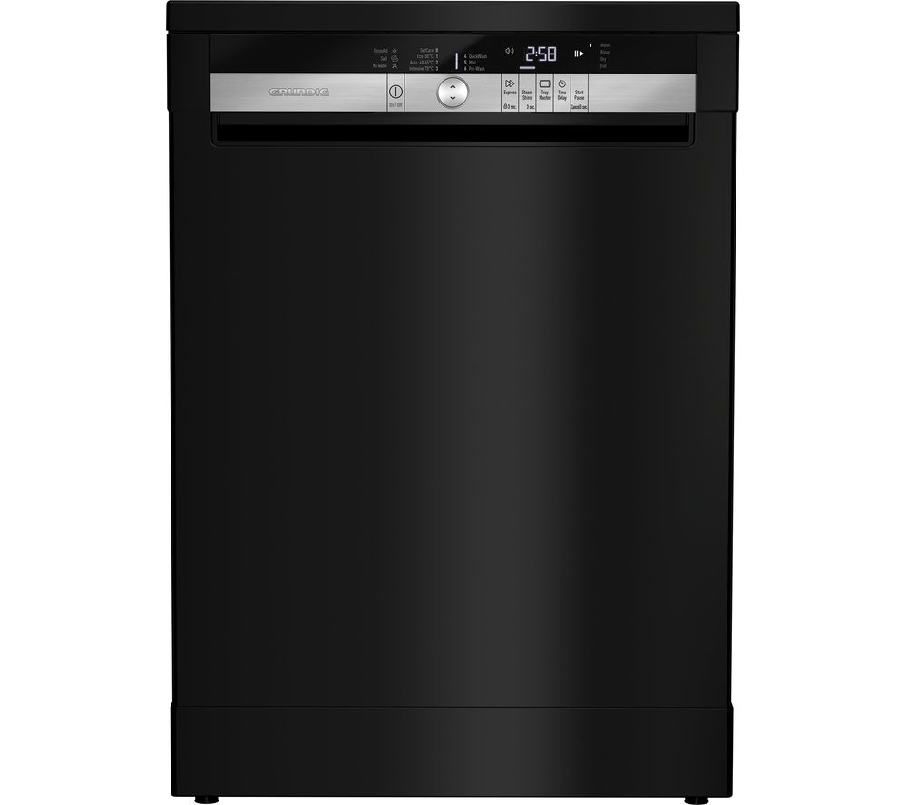 GRUNDIG GNF41620B Full-size Dishwasher - Black