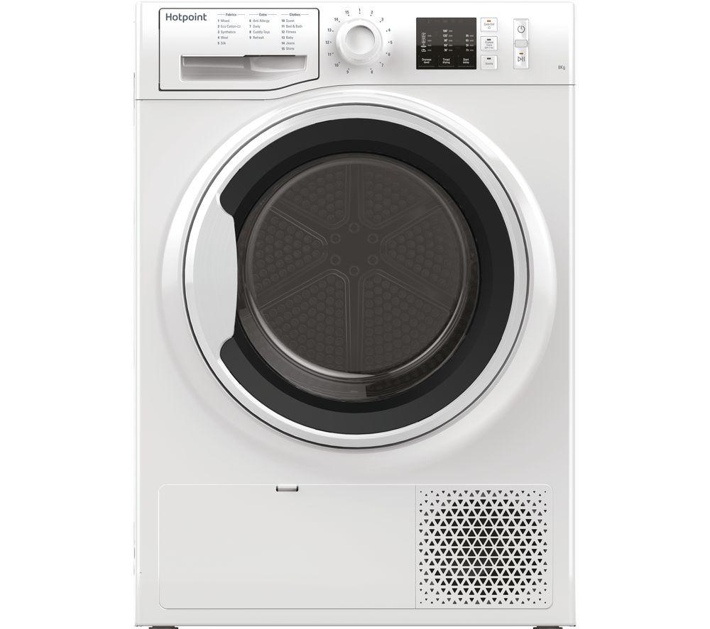 HOTPOINT NT M10 81WK UK 8 kg Heat Pump Tumble Dryer - White