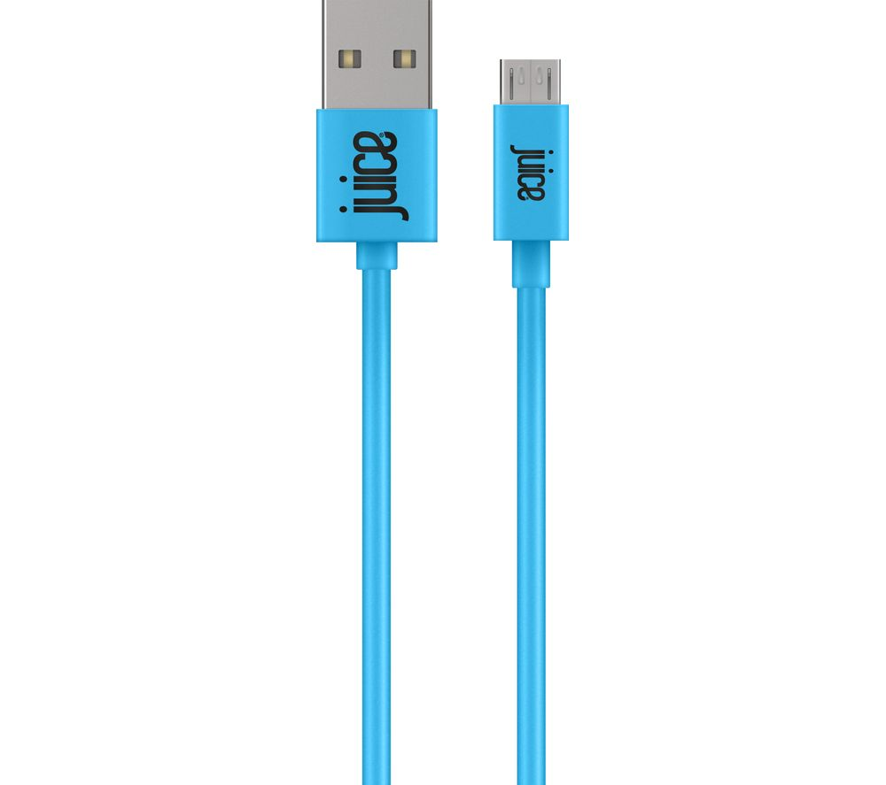 JUICE XXL Micro USB Cable - 3 m, Aqua