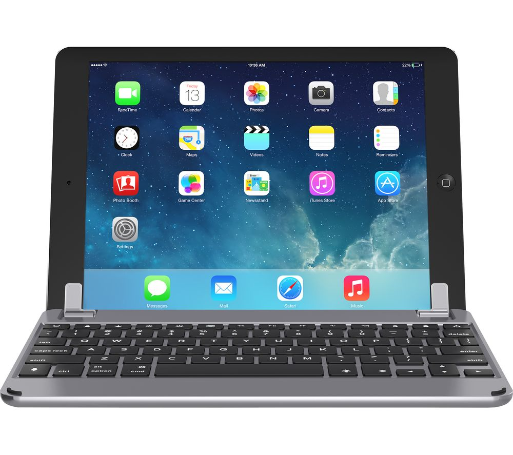 "BRYDGE BRY1012 9.7"" iPad Keyboard - Space Grey"