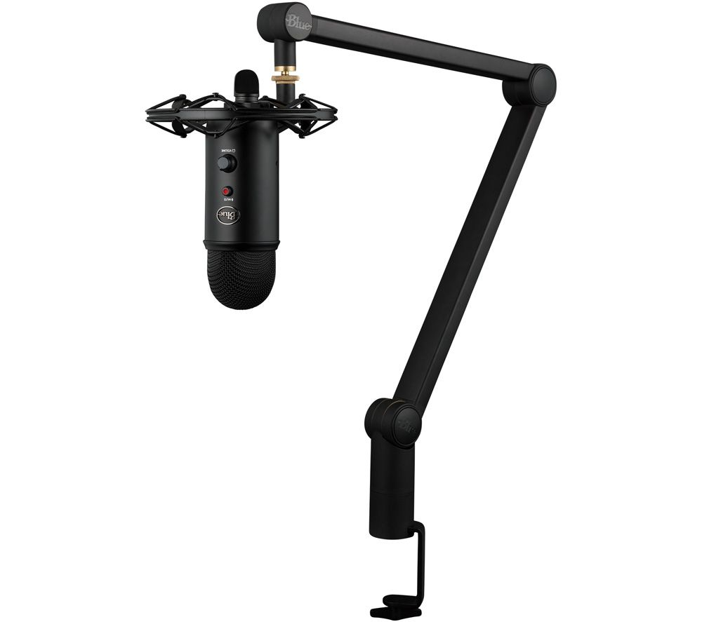 Image of BLUE Yeticaster USB Microphone Bundle - Black, Blue