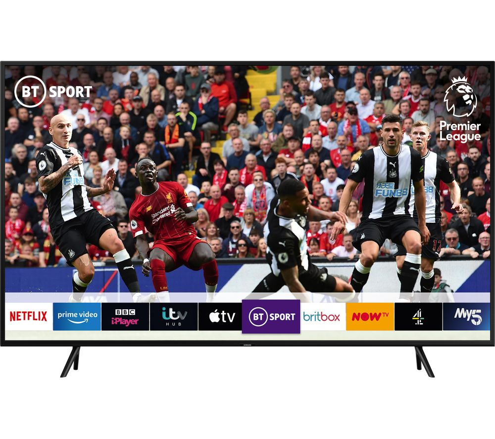 """SAMSUNG QE55Q60RATXXU 55"""" Smart 4K Ultra HD HDR QLED TV with Bixby"""