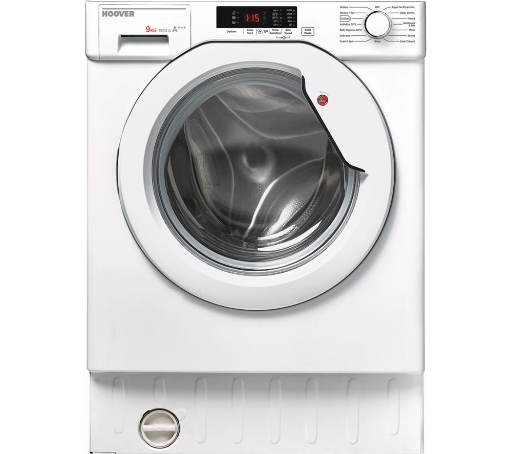 Image of HOOVER HBWM 915D 80 Integrated 9 kg 1500 Spin Washing Machine