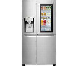 LG GSX961NSVZ American-Style Smart Fridge Freezer - Steel Best Price, Cheapest Prices