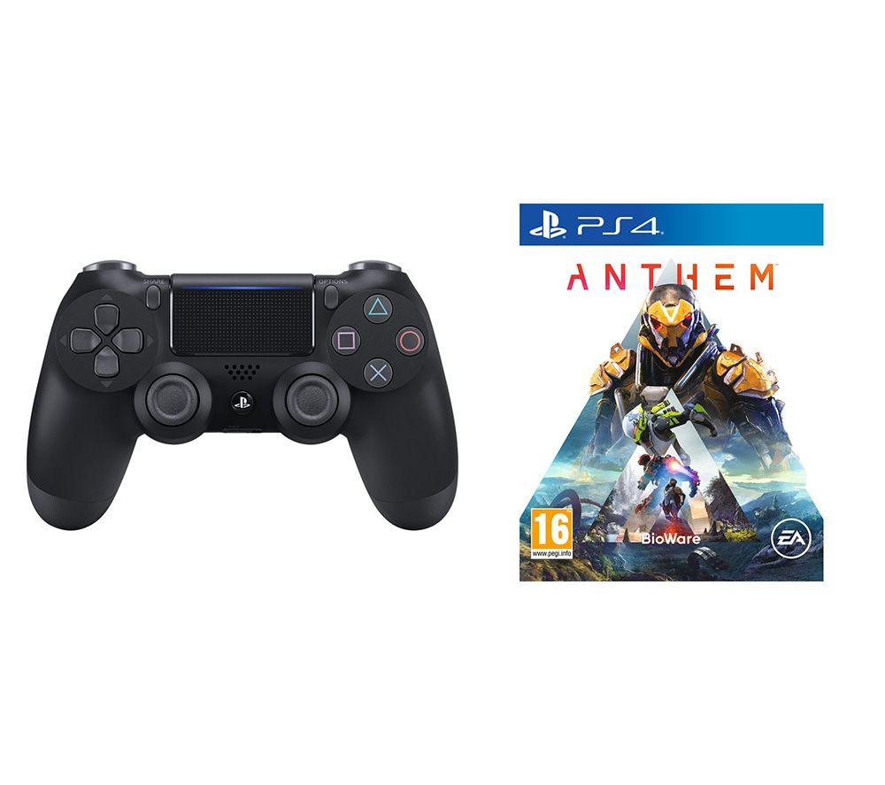 SONY Anthem & DualShock 4 V2 Wireless Controller Bundle - Black, Black