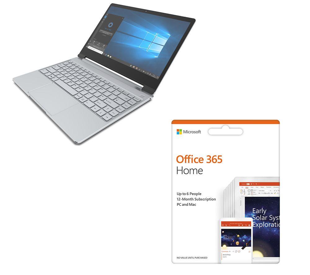 """GEO Book3 13.3"""" Intel® Celeron® N3550 Laptop & Office 365 Home Bundle"""