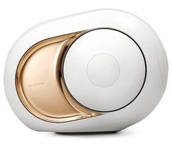 Phantom Gold Bluetooth Speaker - White & Gold