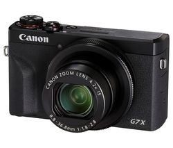 PowerShot G7 X Mark III High Performance Compact Camera - Black