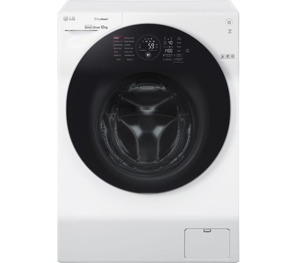 LG FH4G1BCS2 WiFi-enabled 12 kg 1400 Spin Washing Machine - White