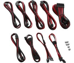 CABLEMOD PRO ModMesh RT-Series ASUS ROG/Seasonic Cable Kit - Black & Red