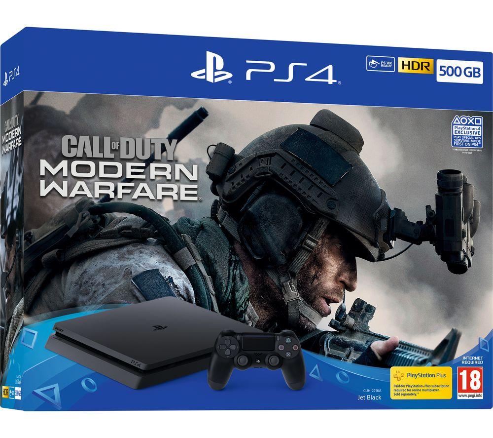 SONY PlayStation 4 with Call of Duty: Modern Warfare - 500 GB