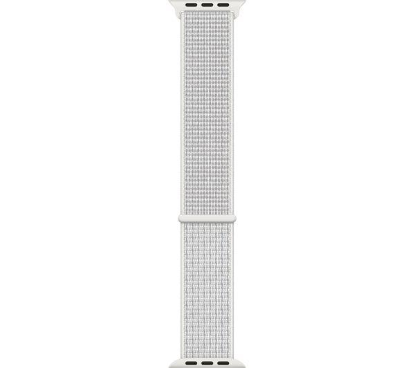 Image of APPLE Watch 40 mm Nike Sport Loop - Summit White