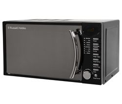 RUSSELL HOBBS RHM1714BC Compact Solo Microwave - Black Best Price, Cheapest Prices