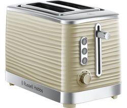 RUSSELL HOBBS Inspire 24374 2-Slice Toaster - Cream