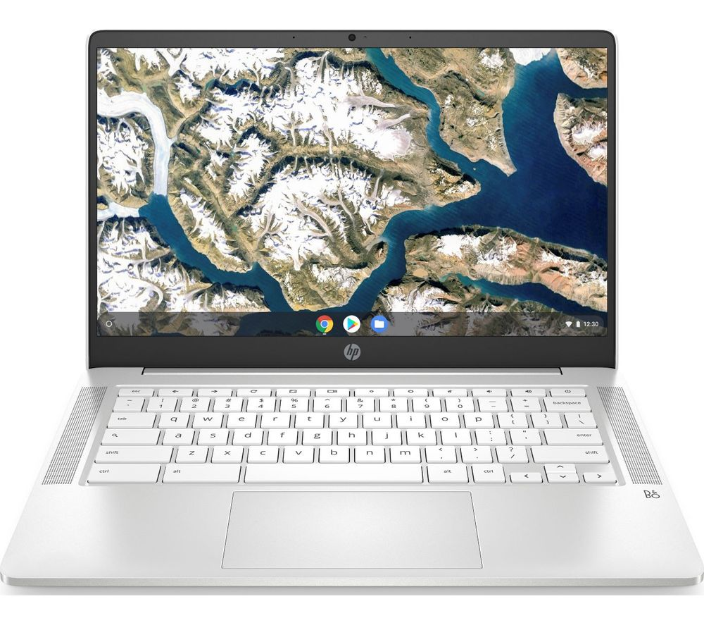 "HP 14a 14"" Chromebook - Intel® Celeron®, 64 GB eMMC, White"