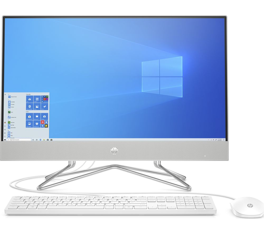 "Image of HP 24-dp0002na 23.8"" All-in-One PC - AMD Ryzen 5, 256 GB SSD, Silver"