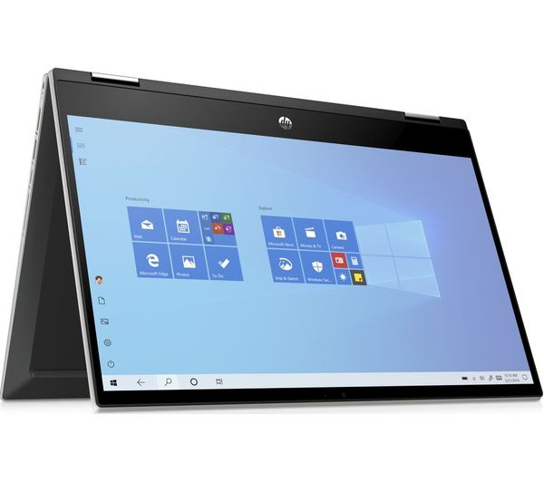 "Image of HP Pavilion x360 14"" 2 in 1 Laptop - Intel® Core™ i3, 256 GB SSD, Silver"