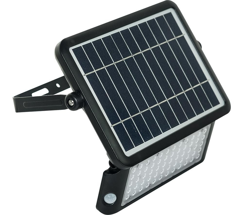 LUCECO Solar Guardian LEXSF11B40 Floodlight - Black