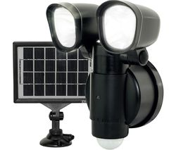 LEXT4B50S Solar Guardian Wall Lamp - Black