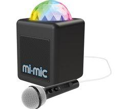 Mini Portable Bluetooth Karaoke Speaker - Black