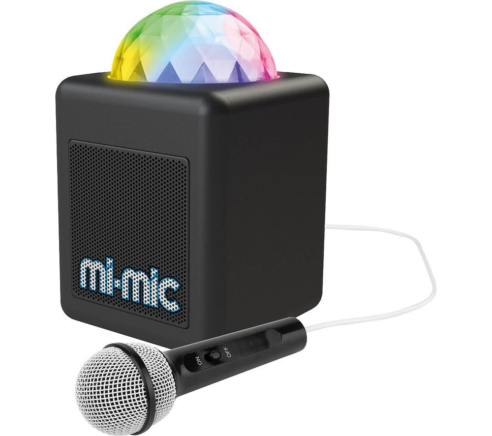 TOYRIFIC Mini Portable Bluetooth Karaoke Speaker - Black