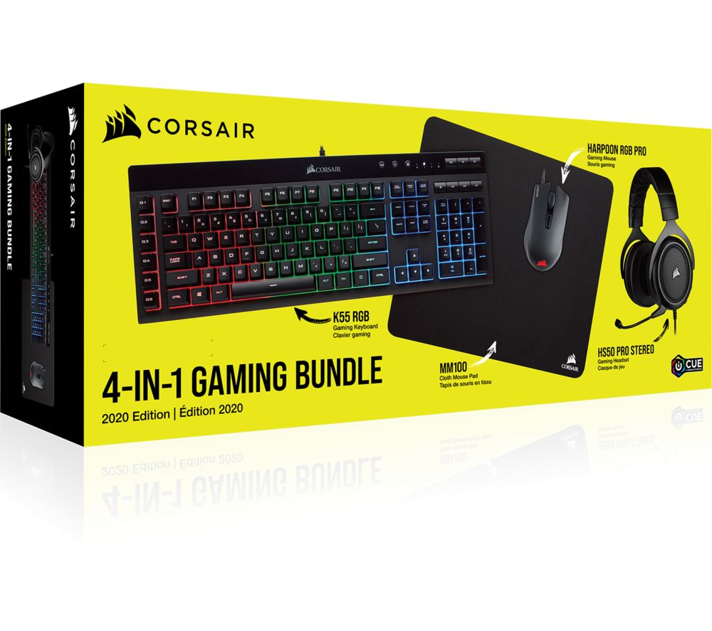CORSAIR 4-in-1 Gaming Bundle