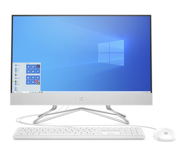 """Image of HP 24-df0064na 23.8"""" All-in-One PC - Intel® Core™ i5, 256 GB SSD, White"""