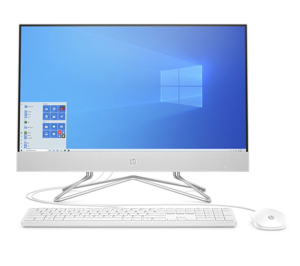 "Image of HP 24-df0064na 23.8"" All-in-One PC - Intel® Core™ i5, 256 GB SSD, White"