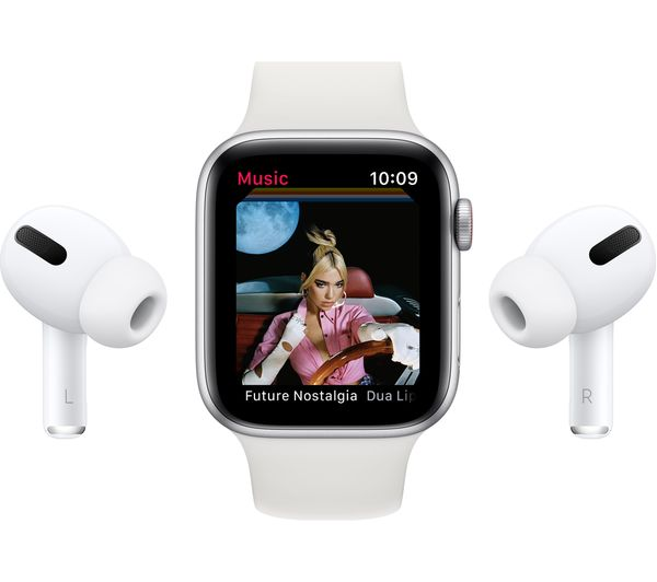 Buy Apple Watch Series 6 Cellular Gold Aluminium With Pink Sand Sports Band 40 Mm Free Delivery Currys