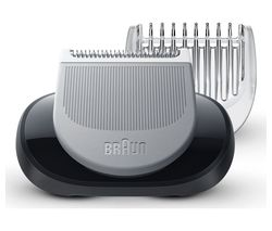 BRAUN BRASP4552 EasyClick Body Groomer Attachment - Black & Silver