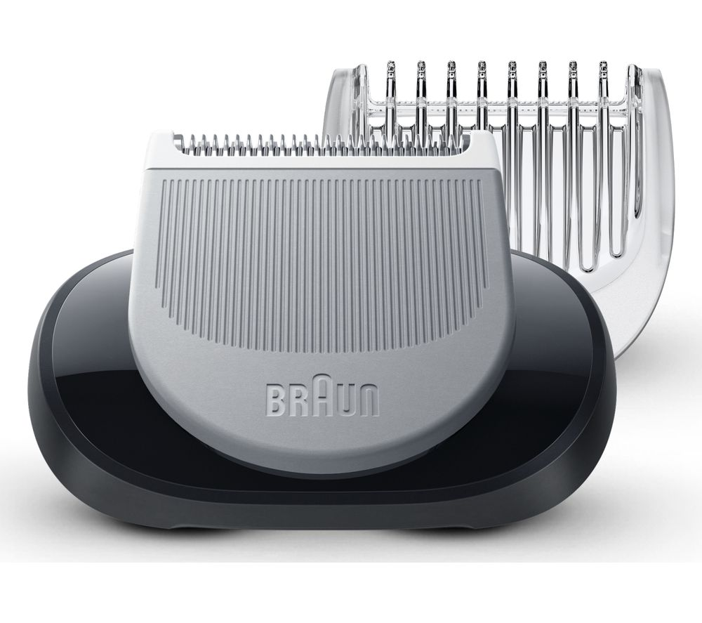 BRAUN BRASP4552 EasyClick Body Groomer Attachment - Black & Silver